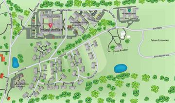 Nottingham Village Map