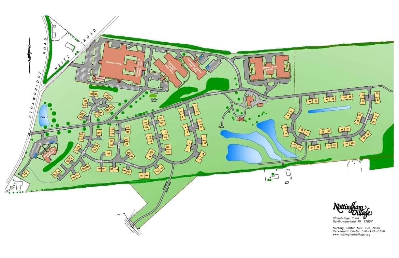NH Campus Map - Nottingham Village